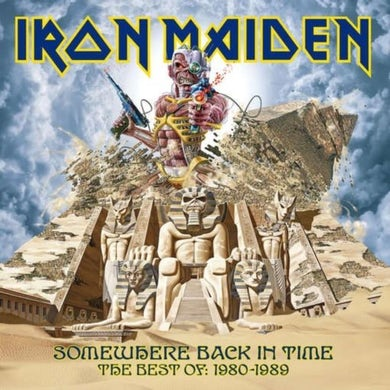 Iron Maiden LP - Somewhere Back In Time | The Best Of (Vinyl)