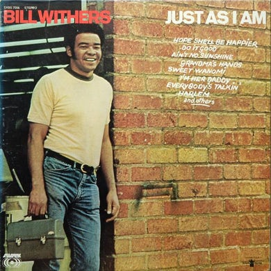 Bill Withers LP - Just As I Am (Vinyl)