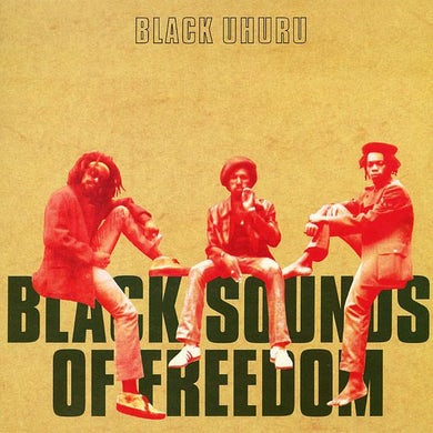 Black Uhuru LP - Black Sounds Of Freedom (Vinyl)