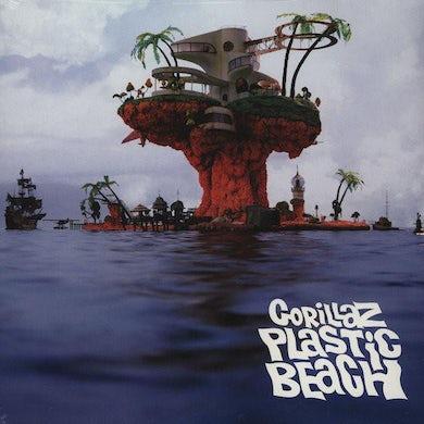 Gorillaz LP - Plastic Beach (Vinyl)