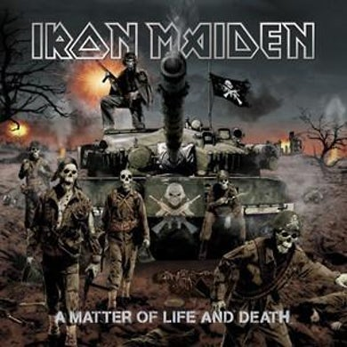 Iron Maiden LP - A Matter of Life and Death (Vinyl)