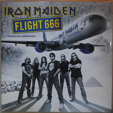 Iron Maiden LP - Flight 666: The Original Sound (Vinyl)