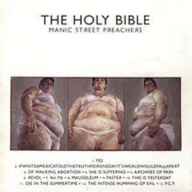 Manic Street Preachers LP - The Holy Bible (Remastered) (Vinyl)