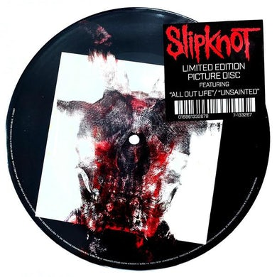 Slipknot LP - All Out Life / Unsainted (Vinyl)