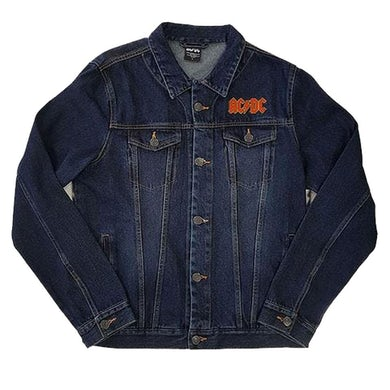 AC/DC Denim Jacket - About To Rock (With Back Print)