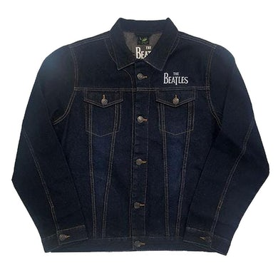 The Beatles Denim Jacket - Drum Logo (With Back Print)