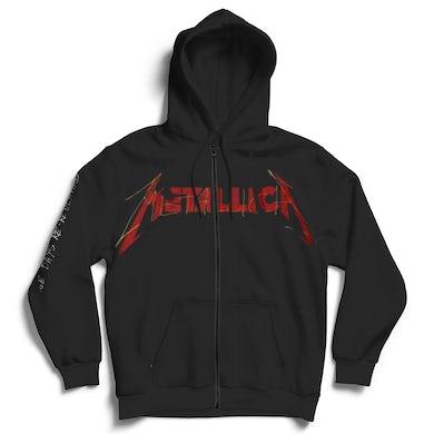 Metallica Zip Hoodie - Garage