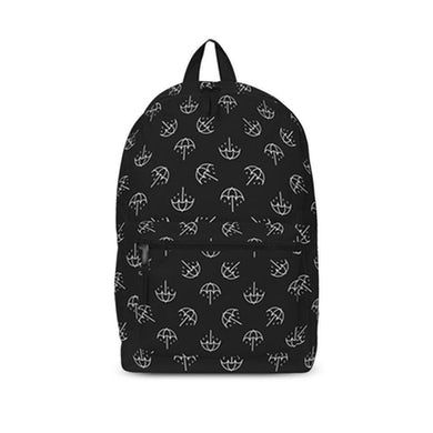 Rocksax Bring Me The Horizon Backpack - Umbrella B/W