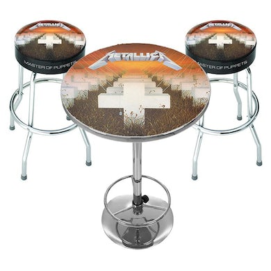 Rocksax Metallica Bar Table Set - Master Of Puppets / PRE ORDER FOR Mid-August 21