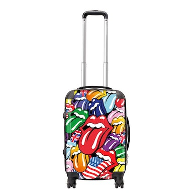 Rocksax The Rolling Stones Travel Bag Luggage - Tongues
