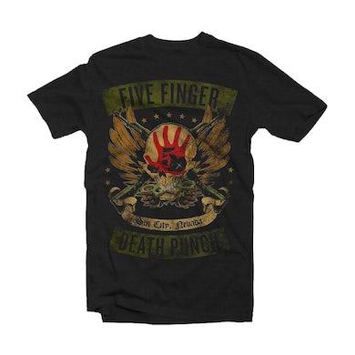 Five Finger Death Punch T Shirt - Locked & Loaded