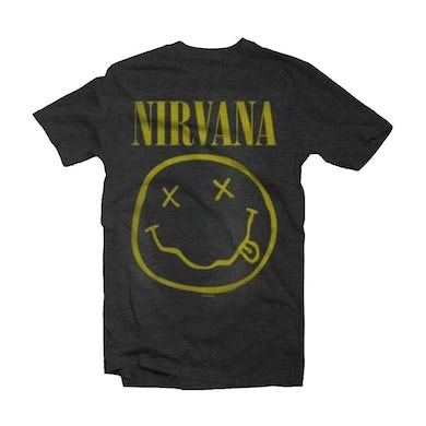 Nirvana Vintage T Shirt - Smile