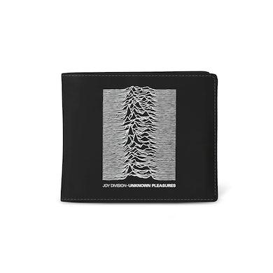 Rocksax Joy Division Premium Wallet - Unknown Pleasures Pre-Order June 2021
