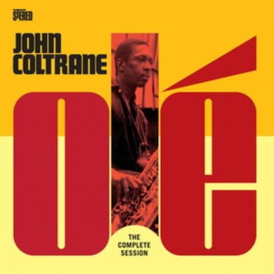 John Coltrane and Kenny Burrell LP - Ole Coltrane The Complete Session (Limited Transparent Yellow Vinyl)