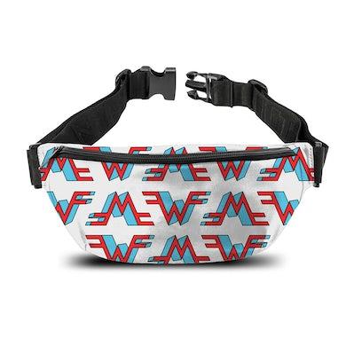 Rocksax Weezer Bum Bag - White