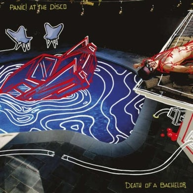 Panic At The Disco  LP - Death Of A Bachelor (Vinyl)