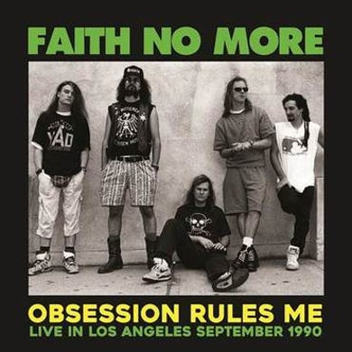 Faith No More LP - Obsession Rules Me: Live In Los Angeles (Vinyl)