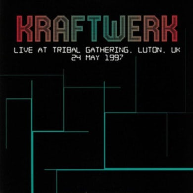 Kraftwerk LP - Live At Tribal Gathering. Luton. UK 24 May 1997 (Vinyl)
