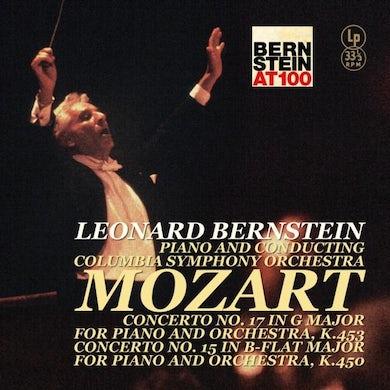 LP - Mozart – Piano Concerto 15 &17 (Vinyl)