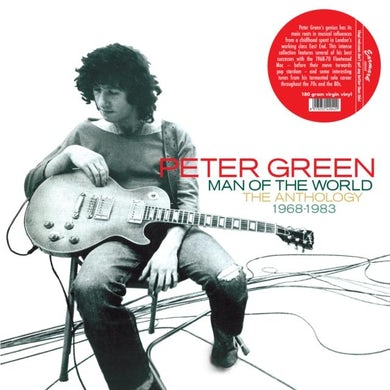 Peter Green LP - Man Of The World - The Anthology 1968-1983 (Vinyl)
