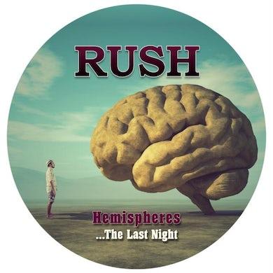 Rush LP - Hemispheres - The Last Night - Picture Disc (Vinyl)