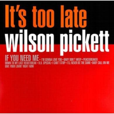 Wilson Pickett LP - It's Too Late (Vinyl)