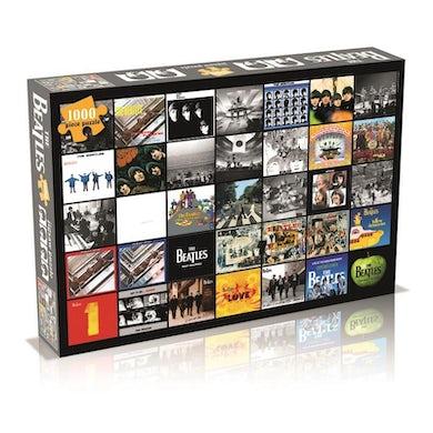 The Beatles Jigsaw Puzzle - Beatles Album Collage 1000 Piece Jigsaw Puzzle