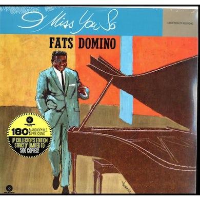 Fats Domino LP - I Miss You So (Vinyl)