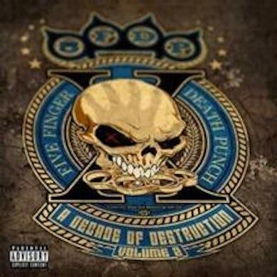 Five Finger Death Punch LP - Decade Of Destruction. Vol. 2 (Vinyl)
