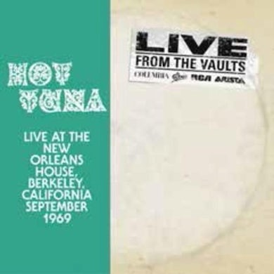Hot Tuna LP - Live At The New Orleans House (Vinyl)
