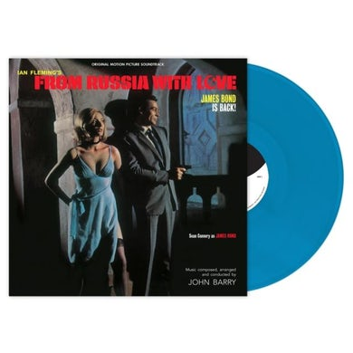 John Barry LP - From Russia With Love (Cyan Blue Vinyl)