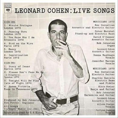 LP - Live Songs (Vinyl)