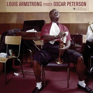 Louis Armstrong LP - Louis Armstrong Meets Oscar Peterson (Vinyl)