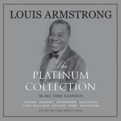 Louis Armstrong LP - Platinum Collection (White Vinyl)
