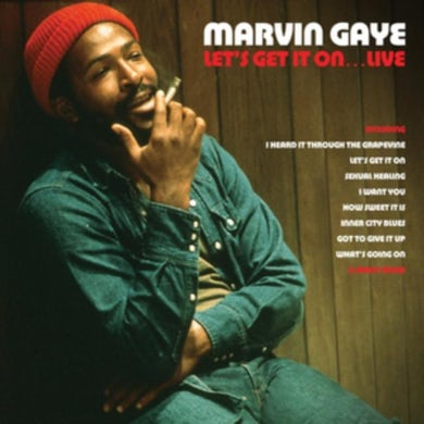 LP - Let's Get It On... Live (Red Vinyl)
