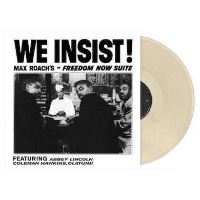 LP - We Insist! (Opaque Bone Colour Vinyl)
