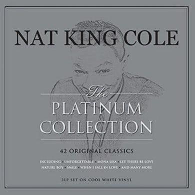 Nat King Cole LP - Platinum Collection (White Vinyl)