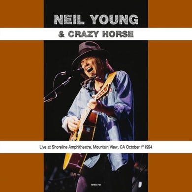 Neil Young & Crazy Horse LP - Live At Shoreline Amphitheatre Mountain View Ca October 1St 1994 (Green Vinyl)