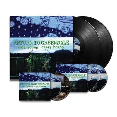 Neil Young & Crazy Horse LP Box Set - Return To Greendale (2Lp+2Cd+Blu-Ray+Dvd)