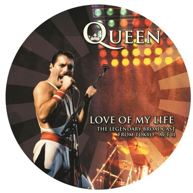 Queen LP - Love Of My Life (Picture Disc) (Vinyl)