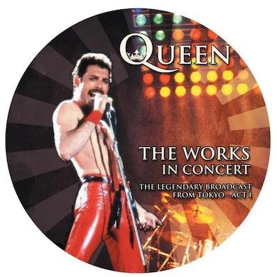 Queen LP - The Works In Concert (Picture Disc) (Vinyl)