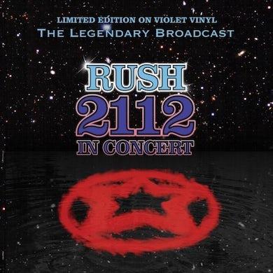 Rush LP - 2112 In Concert (Vinyl)