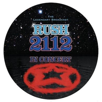 Rush LP - 2112 - In Concert - Picture Disc (Vinyl)