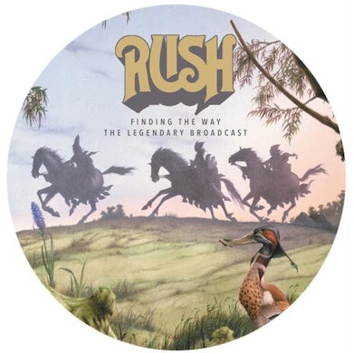 Rush LP - Finding The Way (Picture Disc) (Vinyl)