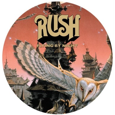 Rush LP - Flying By Night (Picture Disc) (Vinyl)