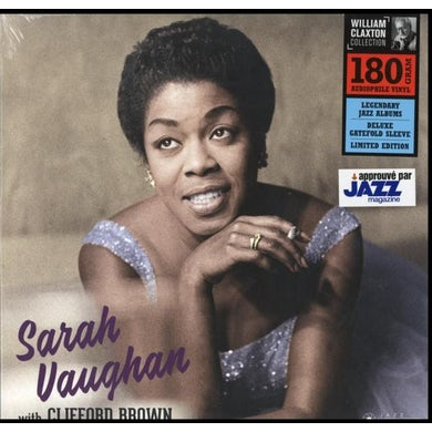 LP - Sarah Vaughan With Clifford Brown (Deluxe Gatefold Edition) (Vinyl)