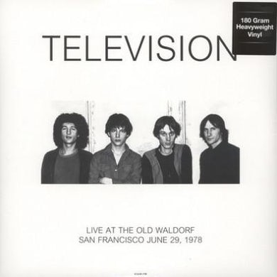 Television LP - Live At The Waldorf In San Francisco 29Th June 1978 (Vinyl)