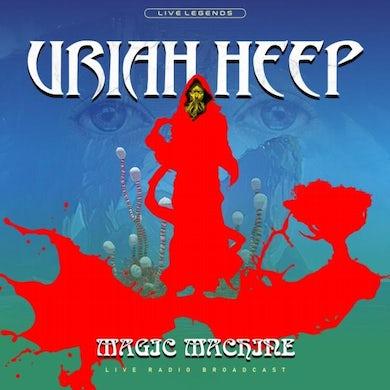 Uriah Heep LP - Magic Machine (Blue Vinyl)