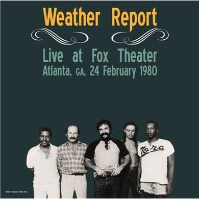 LP - Live At Fox Theater. Atlanta. Ga. February 24. 1980 (Vinyl)