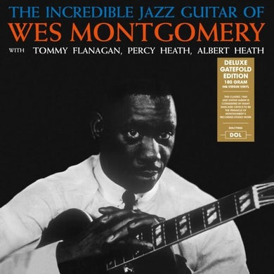 LP - The Incredible Jazz Guitar Of Wes Montgomery (Vinyl)